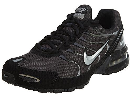 Nike Mens Air Max Torch 4 Running Shoes, Anthracite/Metallic Silver/Black, 8.5