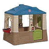 Spielhaus für Kinder, Happy Home Cottage & Grill, mit viel Stauraum und Bodenwanne