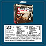 CLIF BUILDERS - Protein Bars - Vanilla Almond Flavor - 20g Protein (2.4 Ounce, 6 Count) (Now Gluten Free)