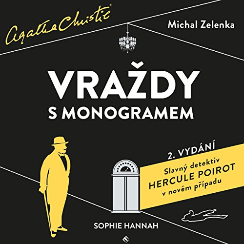 Vraždy s monogramem audiobook cover art