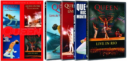 Live at Wembley Stadium 25th Anniversary Edition / Rock Montreal / Live In Rio / On Fire: Live at the Bowl