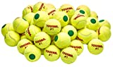 Tourna Green Dot Low Compression Tennis Balls, 60 pack