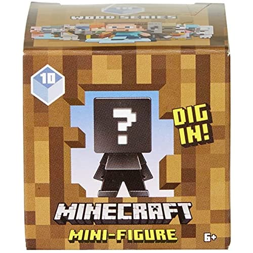 Minecraft Mini Personaggi da Collezione, Assortimento Casuale, Giocattolo per Bambini 6+Anni,FXT80