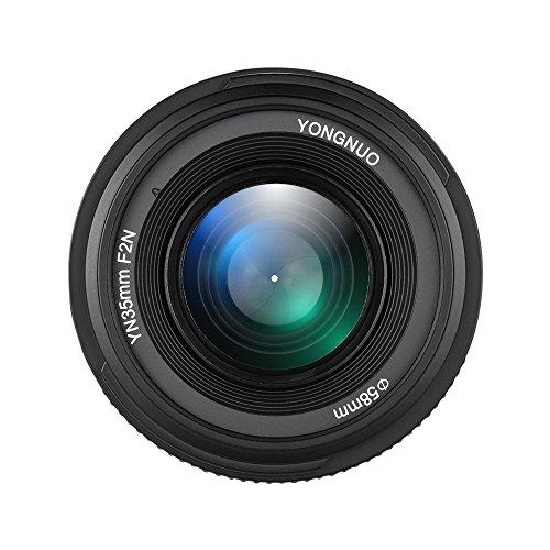 YONGNUO YN35mm F2N F2.0 Grandangolare AF   MF Fuoco Fisso Obiettivo F Supporto per Nikon