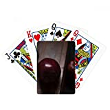 Fresco Cereza Fruta Naturaleza Foto Poker Jugando Tarjeta Mágica Divertida