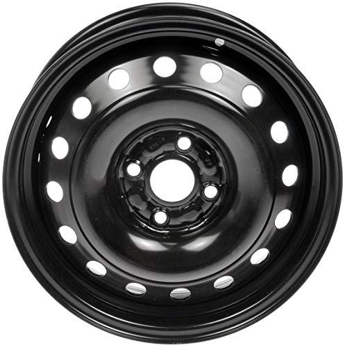 Dorman 939-259 Steel Wheel for Select Toyota Models (15x5'/4x100mm), Black