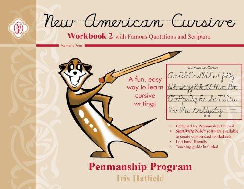 New American Cursive II (Scripture)