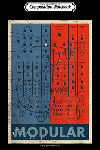 Composition Notebook: Modular Synthesizer Eurorack Nerd Gear Synth Moduls Journal/Notebook Blank Lined Ruled 6x9 100 Pages