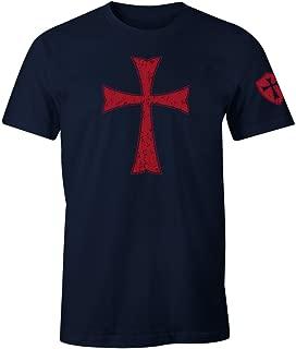Knights Templar Crusader Cross Men's T Shirt