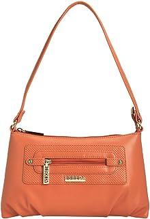 ESBEDA Orange Color Baize Handbag For Women