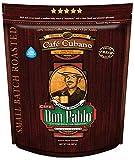 2LB Don Pablo Café Cubano - Dark Roast - Whole Bean Coffee - Low Acidity - 2 Pound (2 lb) Bag