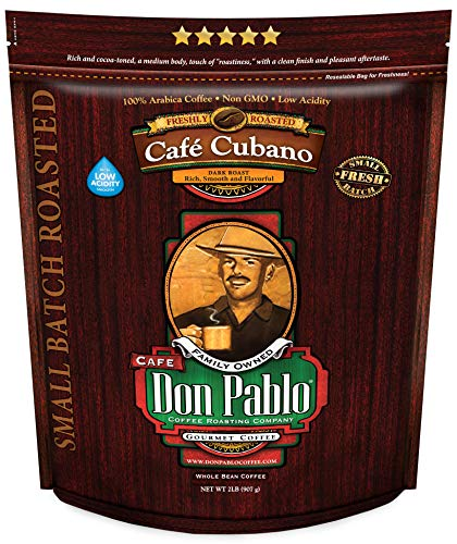 2LB Don Pablo Café Cubano Whole Bean