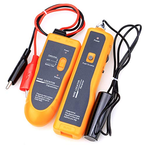 Nf-816 Cable Wire Locator Tracker Metal Pipes Electrical Wires Coax Cable Tester With Earphone