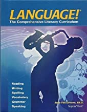 language the comprehensive literacy curriculum