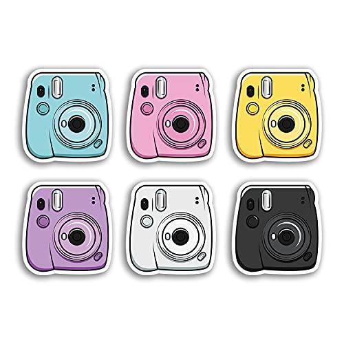Hoja de pegatinas A5 Vintage Retro Camera Vinilos - Foto instantánea #29950