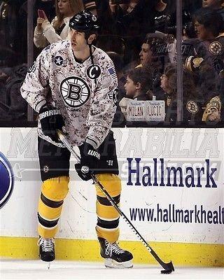 Zdeno Chara Boston Bruins Military Jersey 8x10 11x14 16x20 3064 - Size 11x14
