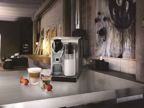 "De'Longhi America EN750MB Lattissima Pro Original Espresso Machine with Milk Frother by De'Longhi, 10.8"" L x 7.6"" W x 13"" H, Brushed Aluminum"