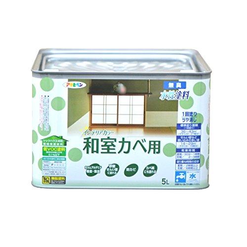 水性インテリアカラー 和室カベ用 5L