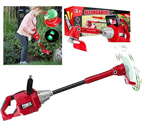 StrMy Decespugliatore Allungabile tagliaerba Giocattolo Attrezzi da Lavoro per Bambini
