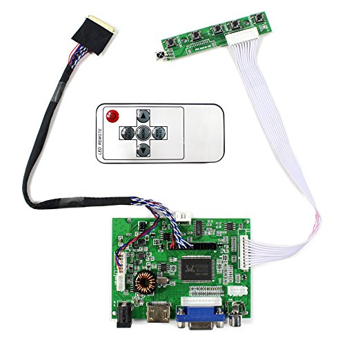 HDMI VGA 2AV Audio Eingang LCD-Controller-Platine für 14