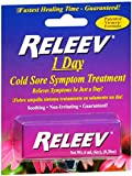 RELEEV 1 Day Cold Sore Treatment 6 mL (Pack of 2)