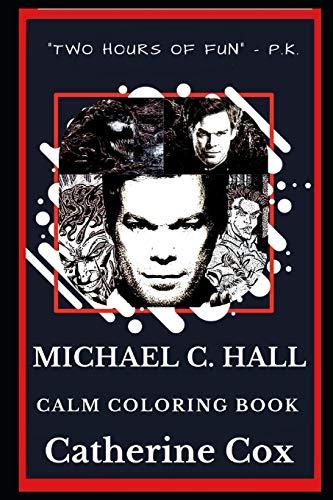 Michael C. Hall Calm Coloring Book