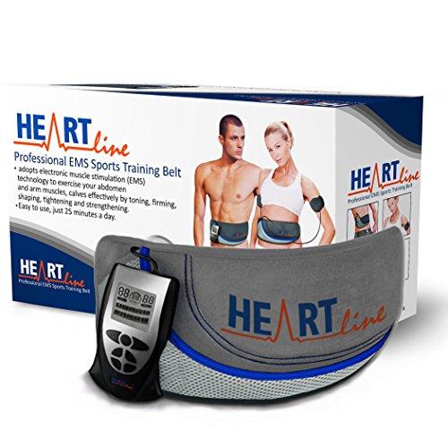 Heartline Ab Belt Professional Advanced Unisex Toning Belt,...