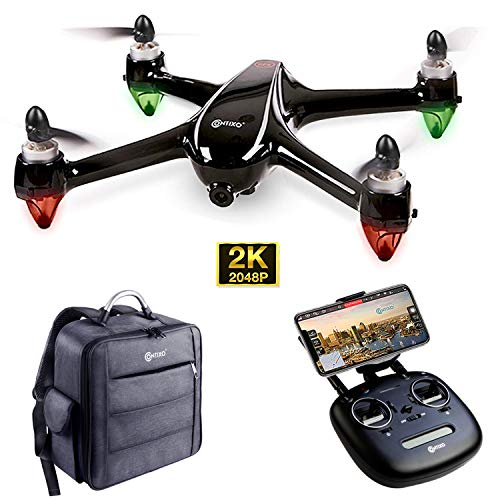 Contixo F18 2K Drone with UHD Camera FPV Live Video for Adults, GPS RC Quadcopter with Brushless...