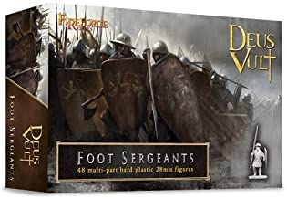 Foot Sergeants - 28mm Hard Plastic figures by Fireforge Games by Fireforge Games