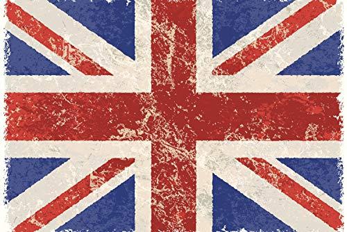 Magnettafel Pinnwand XXL Bild Fahne Flagge England Größe 100 x 80 cm