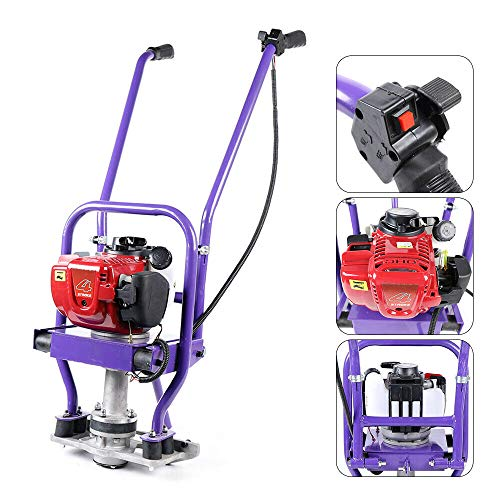 Gas Concrete Wet Screed 35.8CC 4 Stroke Gas Vibrating Concrete Commercial Heavy Duty Power Screed Cement Air-cooled Gasoline Engine