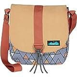 KAVU Wayfare Mini Crossbody Boho Bag Canvas Bohemian Tote - Mod Tile