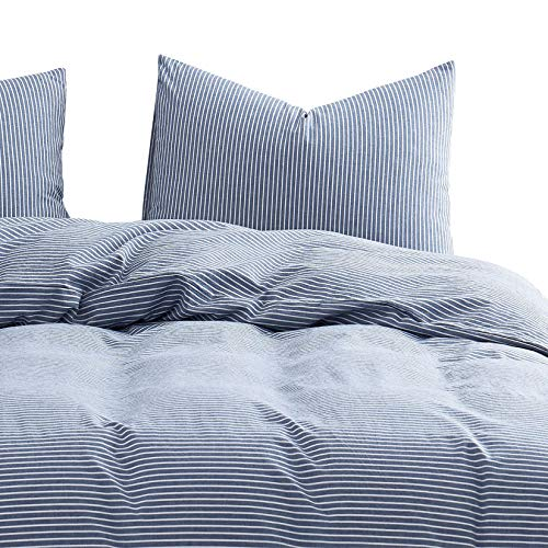 Wake In Cloud - Washed Cotton Duvet Cover Set