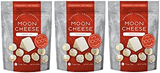 Moon Cheese - 100% Natural Cheese Snack - Pepper Jack - 2 oz - 3 Pack
