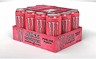 Monster Pipeline Punch 500ml Case of 12 With RaceTrack Gift