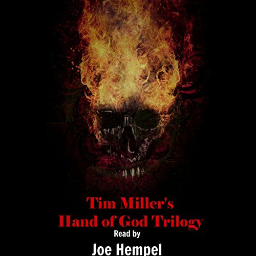 Tim Miller's Hand of God Trilogy cover art