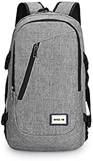Datazone College Student Backpack, Lightweight Waterproof Business Travel Bag for Women and Men, Fits 15.6 Inch Laptop DZ-...