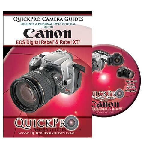 Price comparison product image Canon Digital Rebel & Rebel XT Instructional DVD