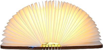 En Forme De 500 Pliante Livre Lumens Avec Lampe LivreTomshine mN0w8n