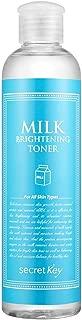 [SECRET KEY] Milk Brightening Toner 248ml - Hypoallergenic Facial Toner with Non-Ethanol, Skin Oil & Moisture Balance, Milk Protein & Rice