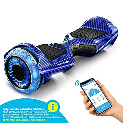 """Bluewheel 6.5"""" Premium Hoverboard German Quality Brand