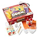 hand2mind Combustion Science Kits for Kids 8-12, Kids Science Kit with Fact-Filled Guide, Lava Lamp, Rocket Balloon, and Birthday Cake Sparklers, STEM Toys, 25 Science Experiments