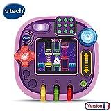 VTech RockIt Twist - Console de jeux éducative pour enfant, rose translucide