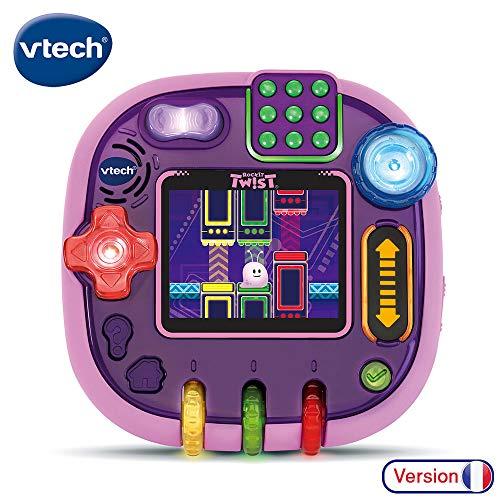 Vtech Rockit Twist Lernspielkonsole für Kinder, durchscheinend rosa