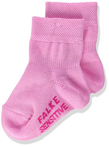 Falke Sensitive Calcetines, Rosa (Begonia Pink 8668), 62/68 (Talla del fabricante: 62-68) para Bebés