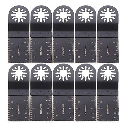 Ils - 10 stuks 35mm oscillerende multitool zaagbladen voor Fein Multimaster Bosch Makita
