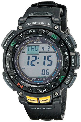 Casio Men's Digital Quartz Watch with Resin Strap PAG240-1C