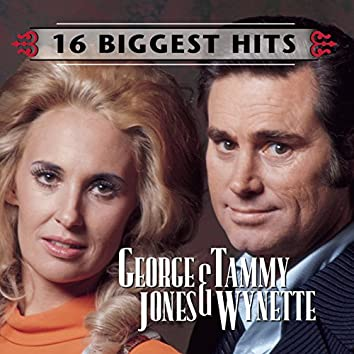 George Jones and Tammy Wynette - 16 Biggest Hits
