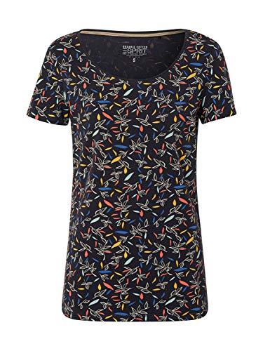 Esprit 030ee1k301 T-Shirt Women's, Blue (400/NAVY), M