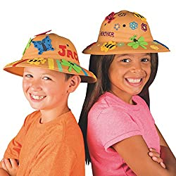 Safari Fun Hats Craft Kit